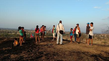 Incendio forestal afectó 250 hectáreas en Morropón