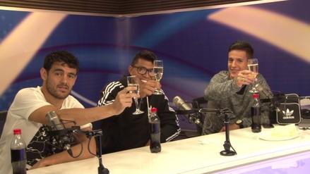 Los campeones de Alianza Lima festejaron el Apertura en RPP Noticias