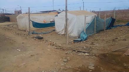 Damnificados abandonados en Víctor Larco a cinco meses de visita del Papa