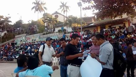 Profesores de etnias Awajún y Wampis tomaron Ugel de Condorcanqui