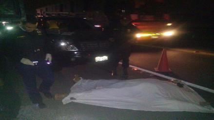 Bus interprovincial atropella y mata a tres personas en Acostambo