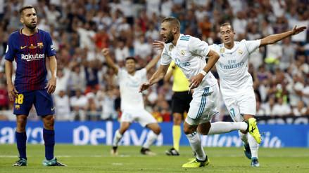 Real Madrid apabulló al Barcelona y se consagró campeón de la Supercopa