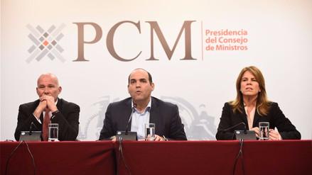 PCM: Plan para reconstruir zonas afectadas por El Niño ya está listo