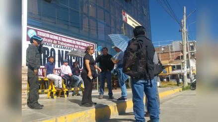 Judiciales de Cajamarca acatan paro de 48 horas