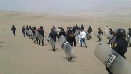 Huaral: realizan operativo contra invasión de terrenos