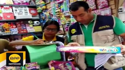 Diresa Piura fiscaliza venta de juguetes ante la cercanía del Día del Niño