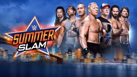 Todos los resultados que dejó el WWE Summerslam 2017 de Nueva York