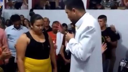 YouTube   Pastor brasileño realiza oración para hacer bajar 35 kilos a una mujer