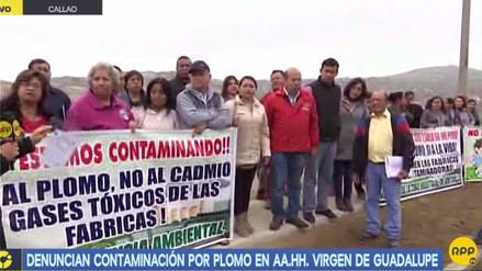 Al menos 500 familias afectadas por contaminación de plomo en el Callao
