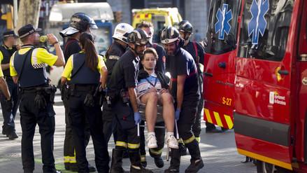 Audio | Una peruana resultó herida en  atentado en La Rambla de Barcelona