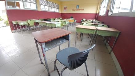 Huelga frustra charlas contra el terrorismo y delincuencia en colegios de Chiclayo