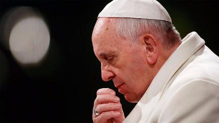 El papa Francisco reza por las víctimas del atentado en Barcelona