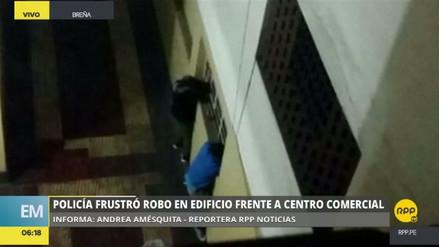 La Policía frustró el asalto en un edificio de Breña