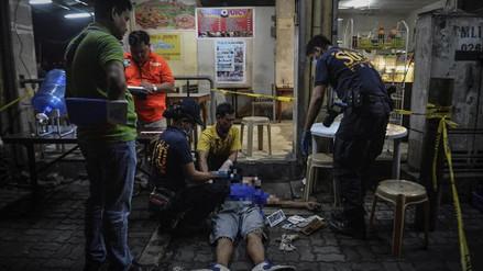 La Policía mató a 32 narcotraficantes en Filipinas