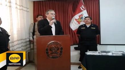 Ministro del Interior prometió continuar con operativos policiales