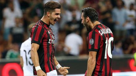 Milan ganó, gustó y goleó en la Europa League