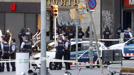 Videos | Así fueron los instantes posteriores al atentado en Barcelona