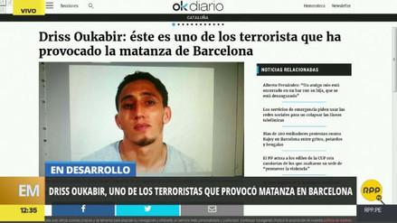 Identifican a uno de los sospechosos del atentado en Barcelona