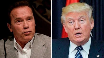 Schwarzenegger a Trump: