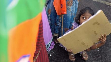 Niña de diez años dio a luz tras ser violada en India, pero no lo sabe