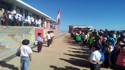 Colegio andino de Salas no acata huelga y realizan Día del Logro