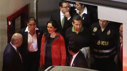 Humala y Heredia insisten ante la Corte Suprema para anular orden de prisión