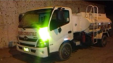 Casma: asaltantes secuestran a conductor y roban petróleo por 10 mil soles