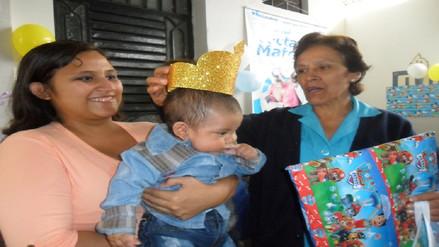 Bebé de cuatro meses se convirtió en el 'Rey mamoncito 2017'