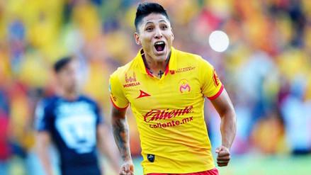 Raúl Ruidíaz anotó y acabó con una sequía de 3 meses en México