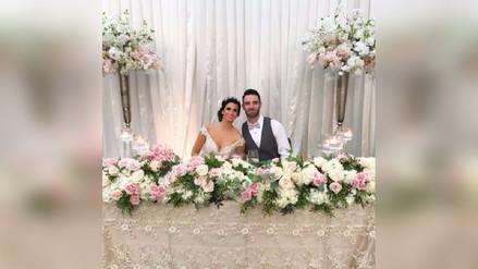Fotos | Así fue la boda de Sully Sáenz y Evan Piccolotto