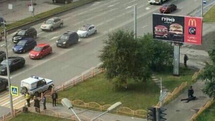 Un hombre atacó a cuchillazos a una multitud en Rusia
