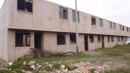 Proyecto de vivienda social tiene diez años paralizado en Chiclayo