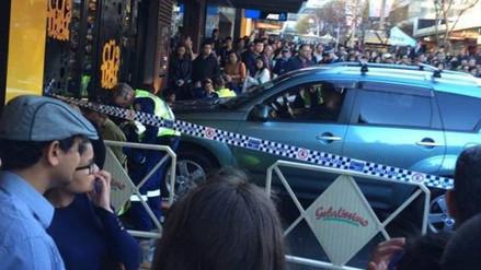 Un automóvil fuera de control arrolló a una multitud en Sídney