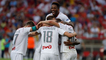 Con Jefferson Farfán los 90 minutos, Lokomotiv sumó un nuevo triunfo