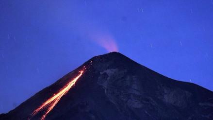 Entró en fase de erupción el Volcán de Fuego de Guatemala