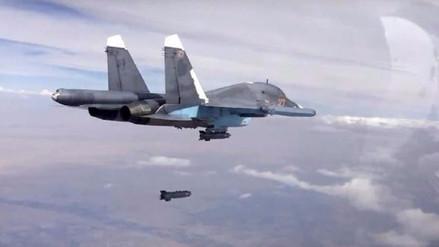 Ataque aéreo de Rusia mata a más de 200 terroristas del Estado Islámico en Siria