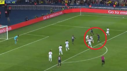 ¡Ni 6 pudieron contra él! El golazo de Neymar para el PSG en Francia