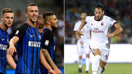 El Milan y el Inter arrancan con goleadas la Serie A