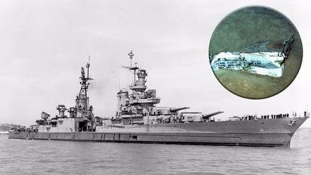 Fotos | Hallaron los restos del buque USS Indianapolis, hundido en la Segunda Guerra Mundial