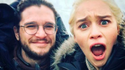 Instagram | Game of Thrones: imágenes de la amistad entre Danaerys y Jon Snow fuera de la serie