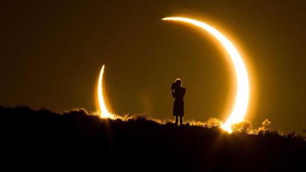 Así se vivió el eclipse solar en el mundo