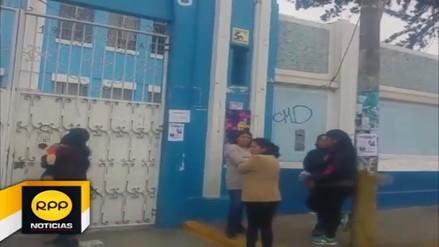 Escolares no retomaron las clases en colegios de Trujillo