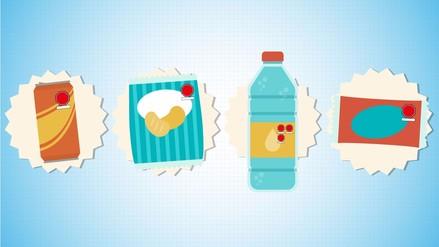 Infografía   Conoce la propuesta de etiquetas para alimentos y bebidas procesados