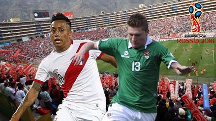 Perú vs. Bolivia: la primera de las próximas cuatro finales
