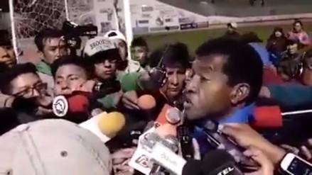 Hinchas del San José piden a gritos la salida de Julio César Uribe