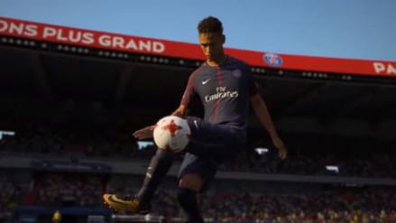 El nuevo tráiler de FIFA 18 muestra a Neymar con la camiseta del PSG