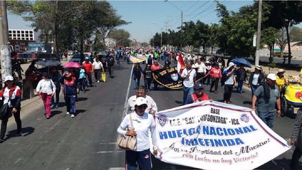 Profesores iqueños viajarán a Lima por diálogo con ministra