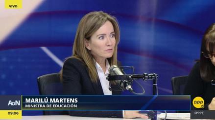 """Marilú Martens a maestros: """"No se eliminará la evaluación docente"""""""