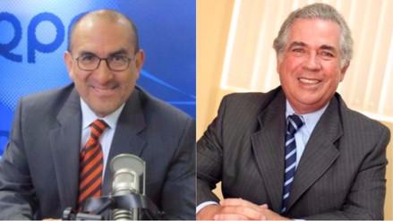 Así fue el debate entre el doctor Elmer Huerta y Alejandro Daly