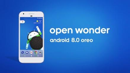 Google presentó Oreo, la nueva versión de su sistema operativo Android